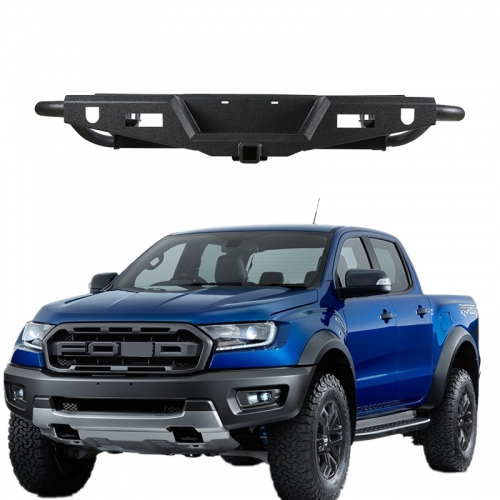 Pickup accessories rear step bumper assembly forfor ford ranger/hilux revo